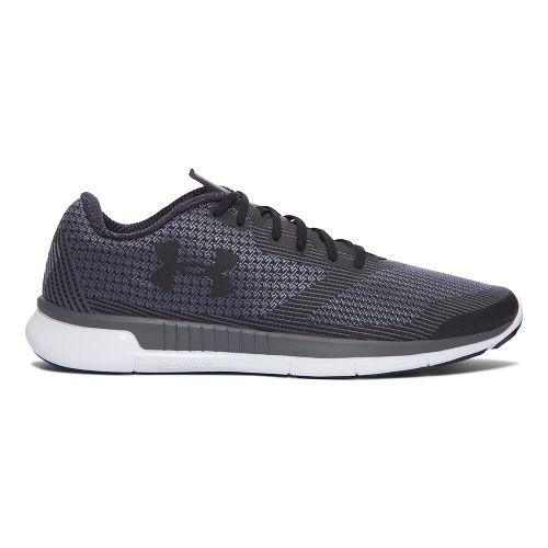 Mens Under Armour Charged Lightning  Running Shoe - Black/White 9
