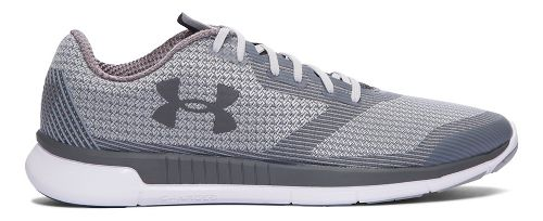 Mens Under Armour Charged Lightning  Running Shoe - Grey Wolf 10