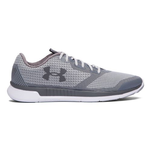 Mens Under Armour Charged Lightning  Running Shoe - Grey Wolf 11