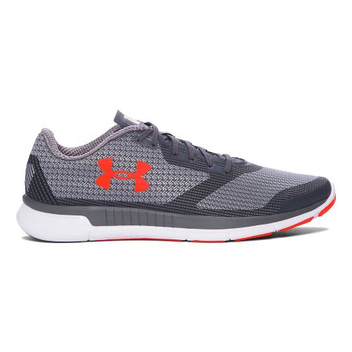 Mens Under Armour Charged Lightning  Running Shoe - Rhino Grey 11.5