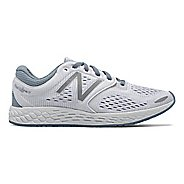 Womens New Balance Fresh Foam Zante v3 Breathe Running Shoe - White 10.5