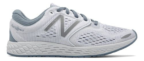 Womens New Balance Fresh Foam Zante v3 Breathe Running Shoe - White 10