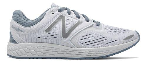 Womens New Balance Fresh Foam Zante v3 Breathe Running Shoe - White 11
