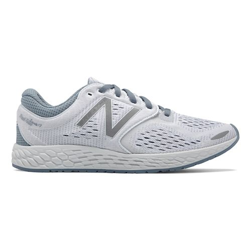 Womens New Balance Fresh Foam Zante v3 Breathe Running Shoe - White 10.5