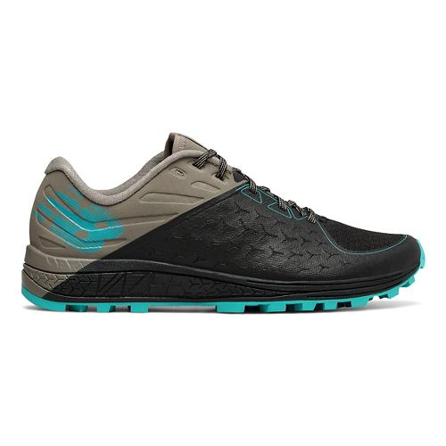 Womens New Balance Vazee Summit v2 Trail Running Shoe - Black/Military Green 7.5