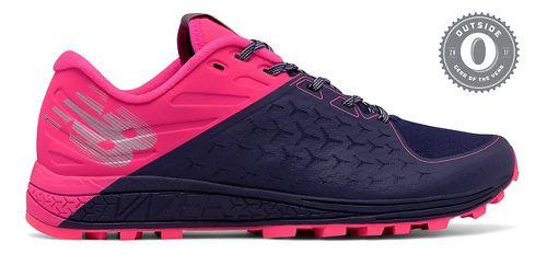 Womens New Balance Vazee Summit v2 Trail Running Shoe - Navy/Pink 9