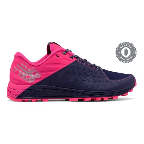Womens New Balance Vazee Summit v2 Trail Running Shoe - Navy/Pink 6