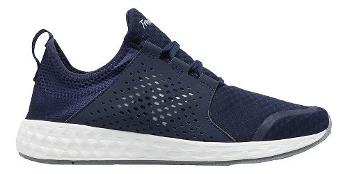 Mens New Balance Fresh Foam Cruz v1 Running Shoe - Navy/White 10