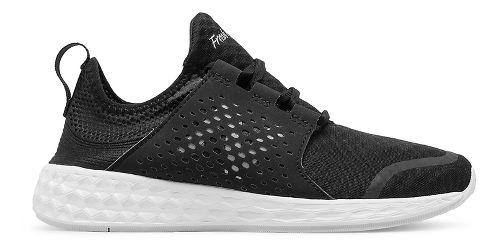 Womens New Balance Fresh Foam Cruz v1 Running Shoe - Black/White 10
