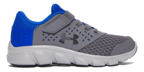 Under Armour Rave RN AC  Running Shoe - Graphite/Blue 3Y