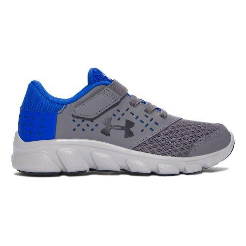 Under Armour Rave RN AC  Running Shoe - Graphite/Blue 2.5Y