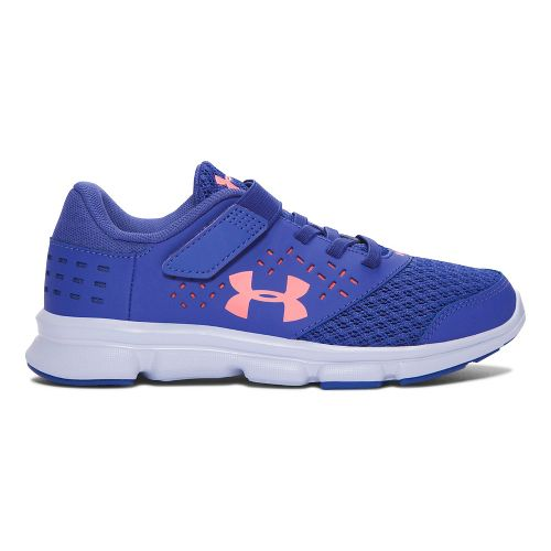 Under Armour Rave RN AC  Running Shoe - Periwinkle/Orange 1.5Y