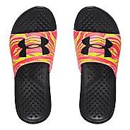 Womens Under Armour Strike Swirl SL Sandals Shoe