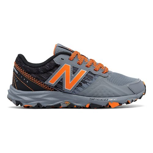 Kids New Balance 690v2 Trail Running Shoe - Grey/Orange 11.5C