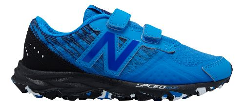 Kids New Balance 690v2 Trail Running Shoe - Blue/Black 11C