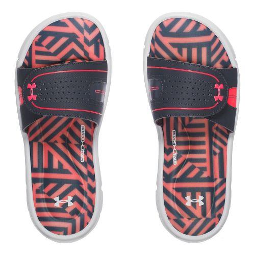Womens Under Armour Ignite Maze VIII SL Sandals Shoe - Rhino Grey 11