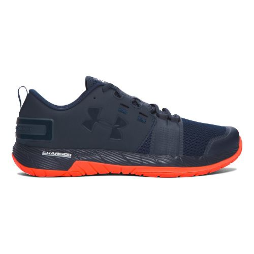 Mens Under Armour Commit TR Cross Training Shoe - Black/Red 9.5