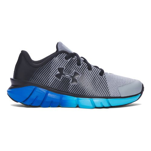 Under Armour X-Level Scramjet  Running Shoe - Grey/Blue 1.5Y