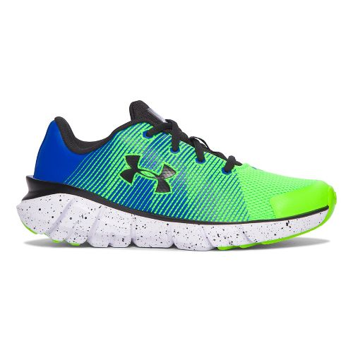 Under Armour X-Level Scramjet  Running Shoe - Hyper Green/Blue 11.5C