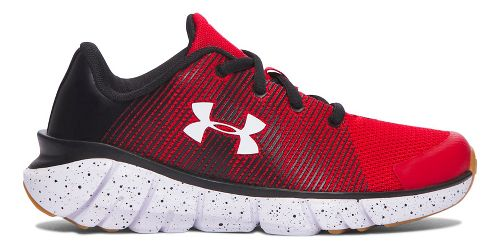 Under Armour X-Level Scramjet  Running Shoe - Red/Black 1Y