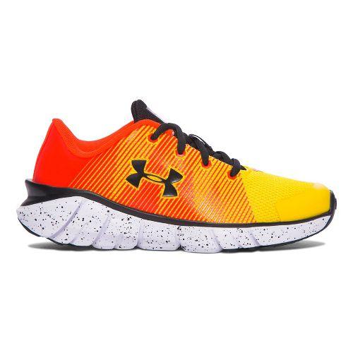 Under Armour X-Level Scramjet  Running Shoe - Yellow/Orange 12C