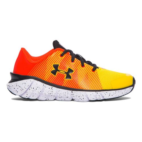 Under Armour X-Level Scramjet  Running Shoe - Yellow/Orange 3Y