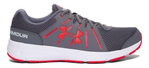 Mens Under Armour Dash RN 2  Running Shoe - Graphite/White 8.5