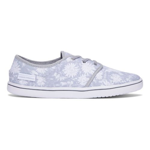 Womens Under Armour Street Encounter Floral Casual Shoe - White 8