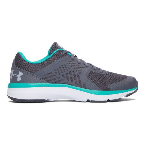Womens Under Armour Micro G Press TR Cross Training Shoe - Rhino Grey 6.5