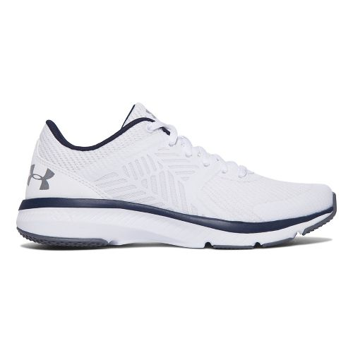 Womens Under Armour Micro G Press TR Cross Training Shoe - White 6