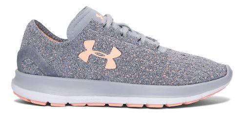 Womens Under Armour Speedform Slingride Tri  Running Shoe - Overcast Grey 9.5