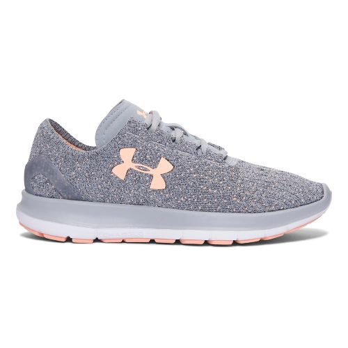 Womens Under Armour Speedform Slingride Tri  Running Shoe - Overcast Grey 5