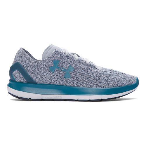 Womens Under Armour Speedform Slingride Tri  Running Shoe - Marlin Blue 11