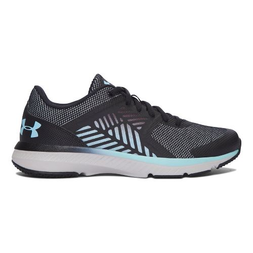 Womens Under Armour Micro G Press TR MM Cross Training Shoe - Black 6