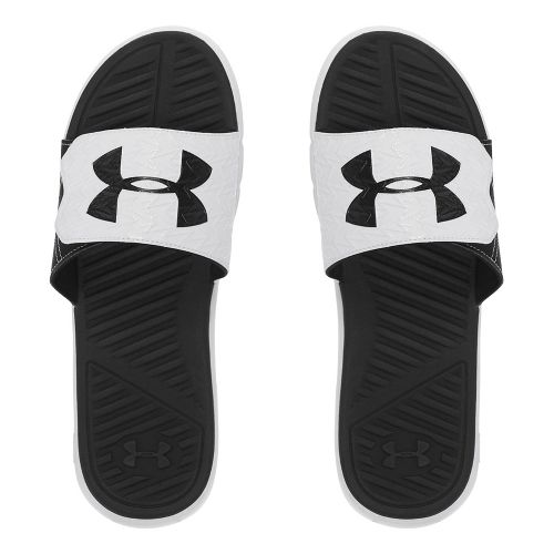 Mens Under Armour M CF Force II SL Sandals Shoe - Black/White 9
