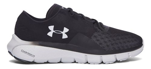 Womens Under Armour Speedform Fortis 2.1  Running Shoe - Black/Red 9