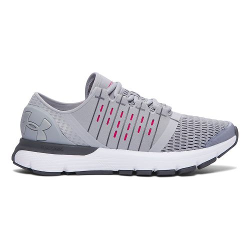 Womens Under Armour SpeedForm Europa  Running Shoe - Overcast Grey 7.5