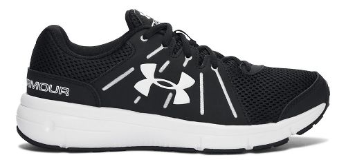 Womens Under Armour Dash RN 2 Running Shoe - Black 10.5