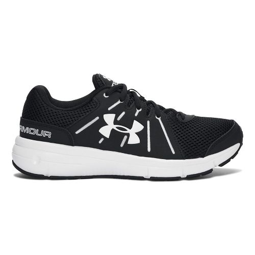 Womens Under Armour Dash RN 2  Running Shoe - Black 9