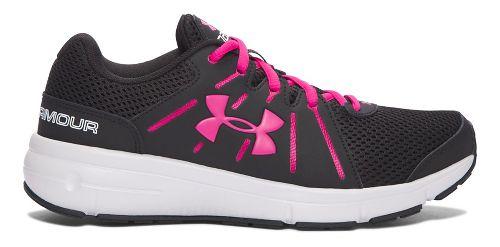 Womens Under Armour Dash RN 2  Running Shoe - Black/Pink 6.5