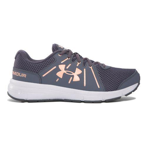 Womens Under Armour Dash RN 2  Running Shoe - Grey/Peach 6.5