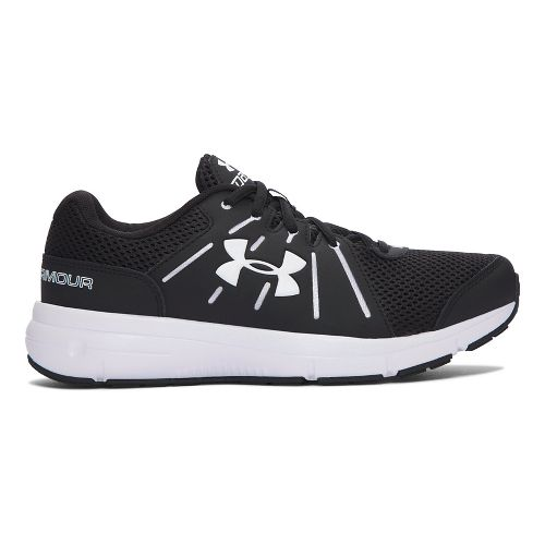 Womens Under Armour Dash RN 2 D  Running Shoe - Black 12