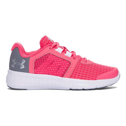Under Armour Micro G Fuel RN  Running Shoe - Pink/Grey 11C