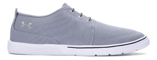 Mens Under Armour Street Encounter III Casual Shoe - Steel/Black 10