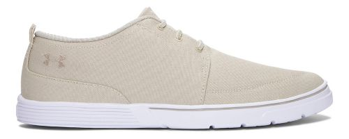 Mens Under Armour Street Encounter III Casual Shoe - Sandstorm/White 7