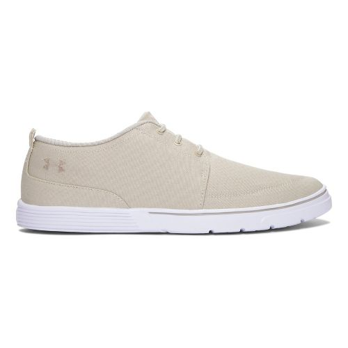Mens Under Armour Street Encounter III Casual Shoe - Sandstorm/White 11