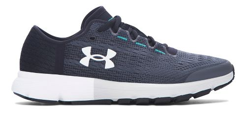 Womens Under Armour Speedform Velociti  Running Shoe - Rhino Grey 6