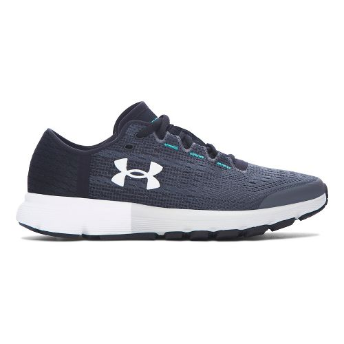 Womens Under Armour Speedform Velociti  Running Shoe - Rhino Grey 7