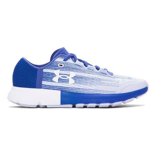 Womens Under Armour Speedform Velociti  Running Shoe - Lavender Ice 7.5