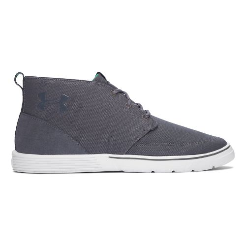 Mens Under Armour Street Encounter Mid Casual Shoe - Grey/Green 10